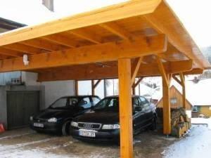 Holzbau hermann demattio sohn carport und garagen
