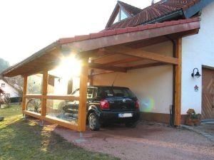 holzbau hermann demattio sohn carport und garagen. Black Bedroom Furniture Sets. Home Design Ideas